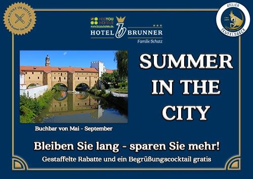 Das Angebot *Summer in the city*
