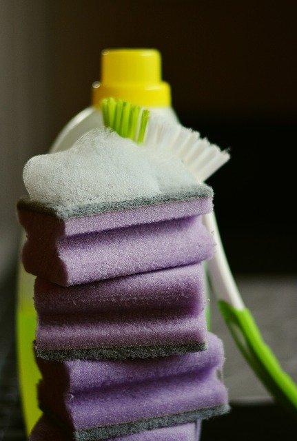 sponge cleaning stuff